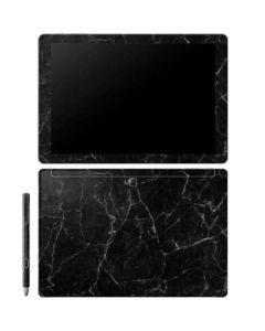 Black Marble Galaxy Book 12in Skin
