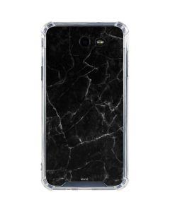 Black Marble Galaxy J7 (2017) Clear Case