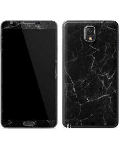 Black Marble Galaxy Note 3 Skin
