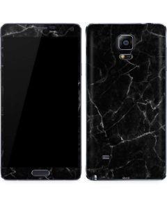 Black Marble Galaxy Note 4 Skin