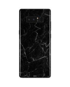 Black Marble Galaxy Note 8 Skin