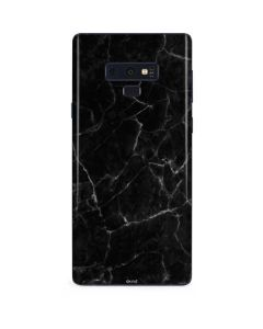 Black Marble Galaxy Note 9 Skin