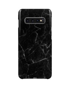 Black Marble Galaxy S10 Plus Lite Case