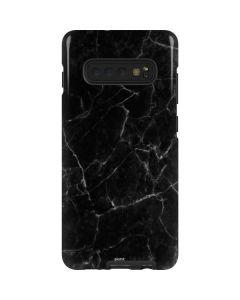 Black Marble Galaxy S10 Plus Pro Case