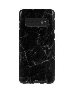 Black Marble Galaxy S10 Pro Case