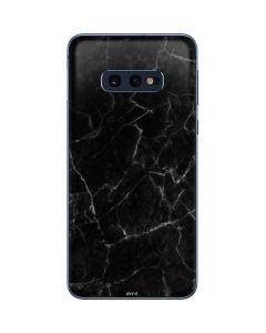 Black Marble Galaxy S10e Skin