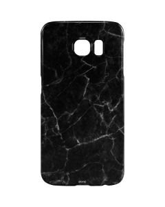 Black Marble Galaxy S6 Lite Case