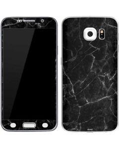 Black Marble Galaxy S6 Skin
