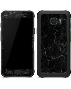 Black Marble Galaxy S7 Active Skin
