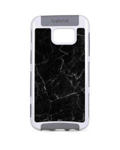 Black Marble Galaxy S7 Edge Cargo Case