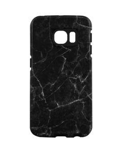 Black Marble Galaxy S7 Edge Pro Case