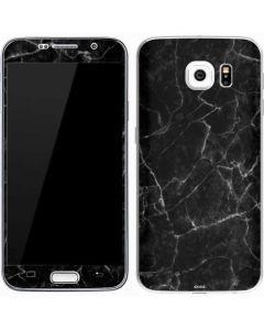 Black Marble Galaxy S7 Skin