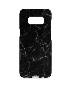 Black Marble Galaxy S8 Plus Lite Case
