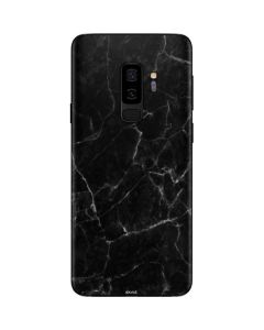 Black Marble Galaxy S9 Plus Skin