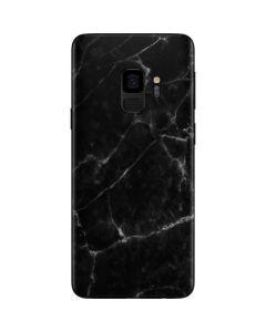 Black Marble Galaxy S9 Skin