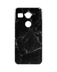 Black Marble Google Nexus 5X Clear Case