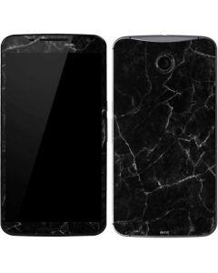 Black Marble Google Nexus 6 Skin