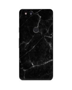 Black Marble Google Pixel 2 Skin