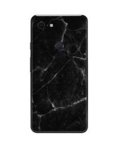 Black Marble Google Pixel 3 XL Skin