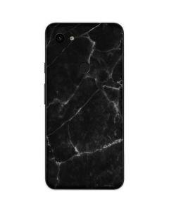 Black Marble Google Pixel 3a Skin