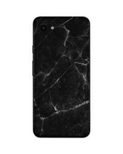 Black Marble Google Pixel 3a XL Skin