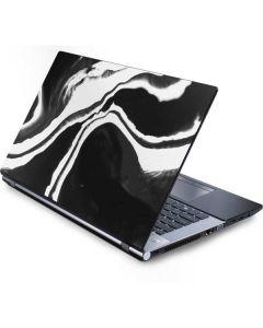 Black Marble Ink Generic Laptop Skin