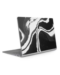 Black Marble Ink Surface Book 2 15in Skin