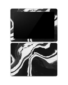 Black Marble Ink Surface Go Skin