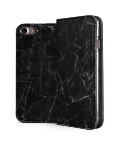 Black Marble iPhone 7 Folio Case