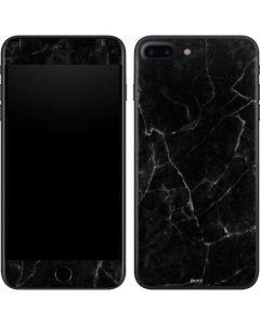 Black Marble iPhone 8 Plus Skin