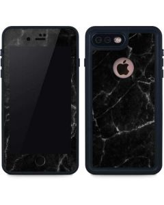 Black Marble iPhone 8 Plus Waterproof Case