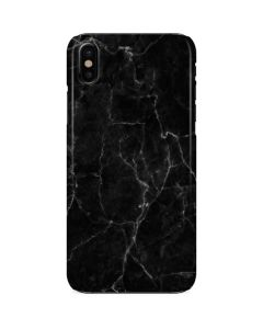 Black Marble iPhone X Lite Case