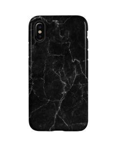 Black Marble iPhone X Pro Case