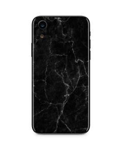 Black Marble iPhone XR Skin