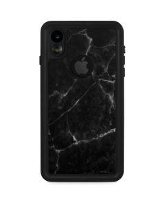 Black Marble iPhone XR Waterproof Case