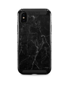 Black Marble iPhone XS Cargo Case