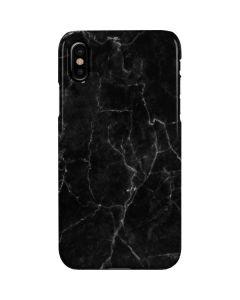 Black Marble iPhone XS Lite Case
