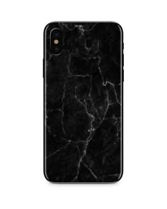 Black Marble iPhone XS Skin