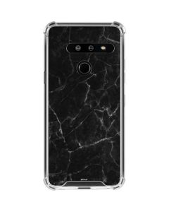 Black Marble LG G8 ThinQ Clear Case