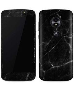 Black Marble Moto E5 Play Skin