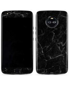 Black Marble Moto X4 Skin