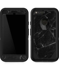 Black Marble Otterbox Defender Pixel Skin