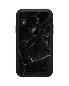 Black Marble Otterbox Defender iPhone Skin
