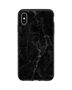 Black Marble Otterbox Symmetry iPhone Skin