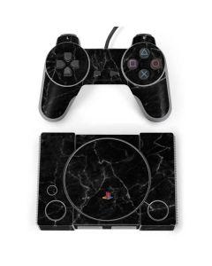 Black Marble PlayStation Classic Bundle Skin