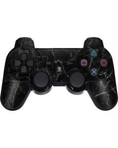 Black Marble PS3 Dual Shock wireless controller Skin