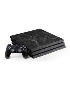 Black Marble PS4 Pro Bundle Skin
