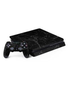 Black Marble PS4 Slim Bundle Skin