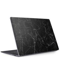 Black Marble Surface Laptop 2 Skin