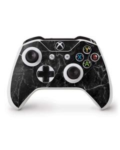 Black Marble Xbox One S Controller Skin